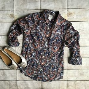 🍂J. Crew Woman's Button Down XS